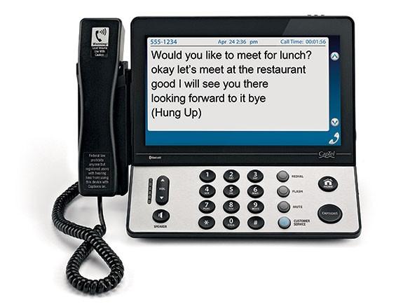CapTel 2400i Caption Phone